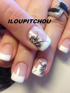 Ongles Gel French, Nail Art Vernis, Posh Nails, Gel Manicure, Nail Gel, Practical Gifts, How To Look Pretty, Hair And Nails, Nail Designs