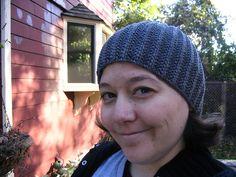 Good plain knit hat for James