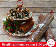 This poppy seed loaf bread is a Hungarian traditional dessert perfect for Christmas and any type of holidays. Christmas Goodies, Christmas Ornaments, Mocca, Poppy, Seeds, Bread, Traditional, Holidays, Type
