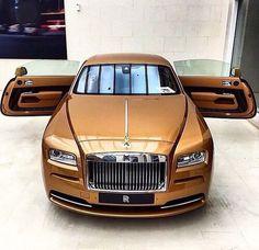"KSK ""luxury as a way of life"" // Rolls-Royce Wraith, Bronze. Maserati, Bugatti, Lamborghini, Ferrari, Rolls Royce Wraith, Rolls Royce Cars, Aston Martin, Voiture Rolls Royce, Porsche 550 Spyder"