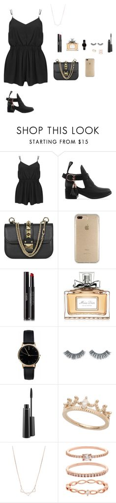 """""""Senza titolo #221"""" by alicemasiero ❤ liked on Polyvore featuring MINKPINK, Shakuhachi, Valentino, Speck, Chanel, Christian Dior, Freedom To Exist, Napoleon Perdis, MAC Cosmetics and Accessorize"""
