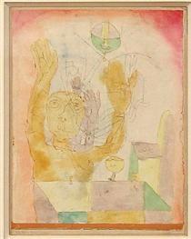 Enlightenment of two Sectie (1918) Paul Klee (Swizterland, 1879-1940)