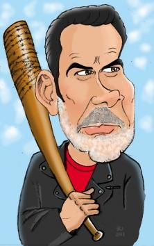 astrocaricaturas: Walking dead