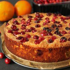 Grain- and Gluten-free Cranberry Orange Cake   texanerin.com