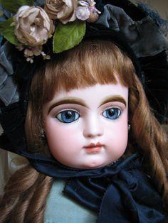 "SPECTACULAR Huge Antique 31"" F.G. Bebe on RARE Gesland Body! from doriansroom on Ruby Lane"