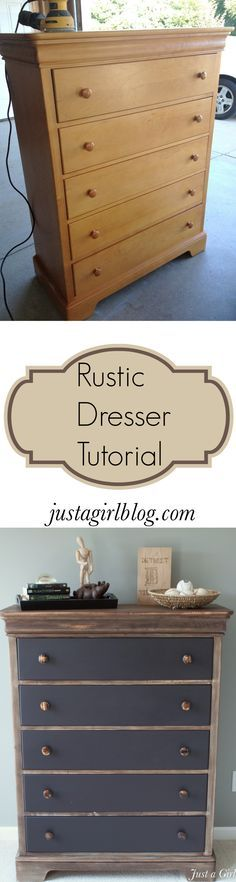 justagirlblog.com DIY how to age wood - possible look for table in eat in area of kitchen?