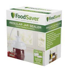 FoodSaver T03-0006-02P Regular-Mouth Jar Sealer:Amazon:Kitchen & Dining