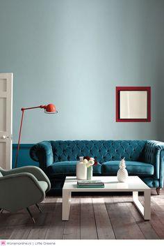 Durven met kleur: accenten, combinaties en neutrale kleuren krijgen een nieuwe definitie #kleurentrends #2015