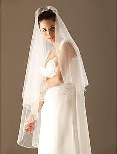 2 camadas véu do casamento valsa (0273-2) – BRL R$ 65,59