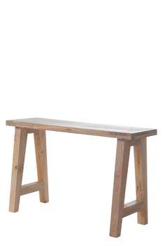 Av trä, välj målad eller natur. 80x30 cm. Sitt yta 80x25 cm. Höjd 50 cm. Lev. omonterad. <br><br>