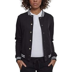 ff8b80d7045f56 Urban Classic Ladies College Sweat Jacket Giacca Sportiva Donna #giacche  #giaccheinvernaliuomo #giaccheinvernali #