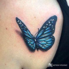 Spencer Caligiuri Tattoo Butterfly
