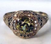 Edwardian ring.