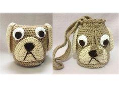 Amigurumi / Bolsinha Cachorro crochê ( Dog crochet ) - Professora Maria ...