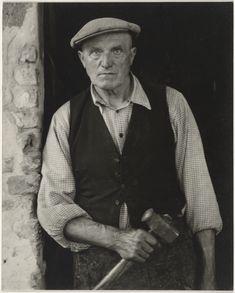 Blacksmith, Luzzara, Italy (1953). Paul Strand