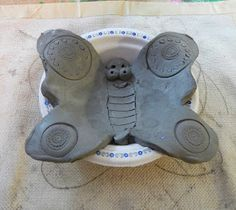 Here is another clay project that I recently completed with Kindergarten, (I just finished a residency where I did clay with the entir...