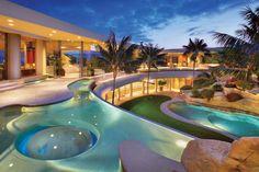 Architecture Luxury House Designs And Floor Plans On Pool Astounding Luxury House Designs and Floor Plans My Pool, Pool Spa, Hotel Pool, Pool Water, Dream Pools, Beautiful Pools, Beautiful Ocean, House Beautiful, Beautiful Scenery
