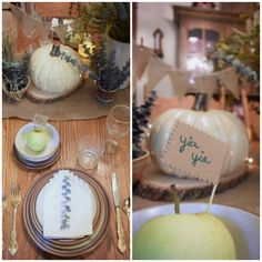 eat.sleep.MAKE.: MichaelsMakers: Harvest Inspired Tablescape Using Craft Pumpkins