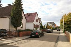 I was born in this house, first on the left Goethestraße, Walldoerf Hessen