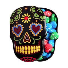 Tinned Candies : Sugar Skulls Wedding favours? ;D