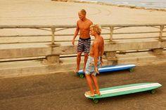 long surf de asfalto.