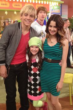 aubrey k miller | Ross, Aubrey and Laura on Austin and Ally, Disney Channel!