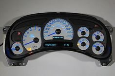 We are a leading supplier of custom built GM truck clusters, OEM cluster products and custom programming. 2003 - 2005 Chevy Silverado HD Sierra HD 2500 & 3500 all with diesel engine & automatic transmission. Silverado Parts, Chevy Silverado Accessories, 2004 Chevy Silverado, Custom Silverado, Silverado Truck, Chevy Ss, Chevrolet Blazer, Truck Accessories, Chevy Impala