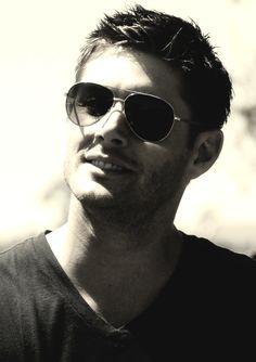 Hair. And Aviators. And Smile. And Death for Alisha. #SupernaturalCast #JensenAckles