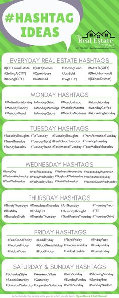 Hashtag Ideas for Real Estate & Realtors - Here are a few real estate .- Hashtag Ideas for Real Estate & Realtors – Here are a few real estate ideas to drum up ideas for your next social media post. Real Estate Memes, Real Estate Career, Real Estate Tips, Real Estate Investing, Real Estate Agents, Real Estate Business Plan, Lead Generation, Real Estate Assistant, Inmobiliaria Ideas