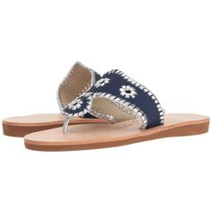 Jack Rogers Boating Jacks (Midnight/Silver) Women's Sandals ($90) ❤ liked on Polyvore featuring shoes, sandals, jack rogers shoes, silver wedge sandals, wedge heeled shoes, wedge heel sandals and wedge sandals