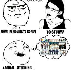 Studying...Korean boys ^▼^
