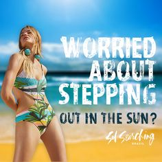 Prolonged sun exposure causes burns, premature aging, skin cancer & discoloration. You can still with our clothing that blocks of UVA & UVB rays, the best part being it doesn't wash off. Face Wrinkles, Outdoor Fashion, Sagging Skin, Sun Protection, No Worries, Anti Aging, Burns, Cancer
