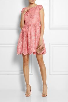 ALICE + OLIVIA Zenden embroidered lace mini dress €339.50 http://www.net-a-porter.com/products/455069