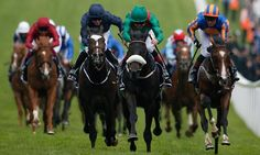 Harzand, centre, the winner of the Derby earlier this month, beat a fast-finishing US Army Ranger, left, and Idaho, right, at Epsom. (I think Harzand can do it !!! )