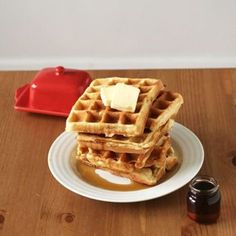 Shhhh! the Secret Ingredient for Making the Worlds Best Waffles. I seriously need a waffle iron!