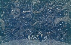 """""""Constellations"""" by Ilonka Karasz for 'The Heavenly Tenants' by William Maxwell"""