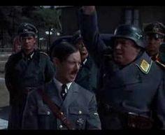 "Sgt. Carter imitates Hitler in this episode of ""Hogan's Heroes"""