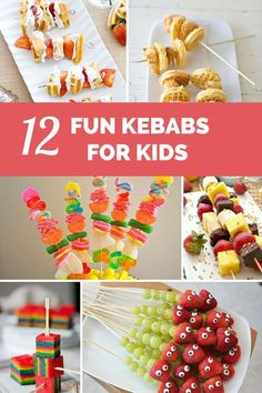 12 Fun and Delicious Kebabs for Kids to Eat!