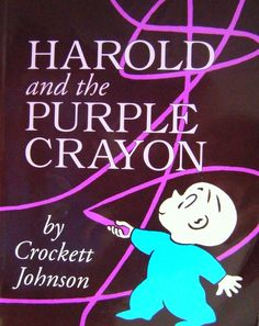 A true classic, you follow Harold with his purple crayon drawing him into another world - but can he get back to his bed before bedtime?