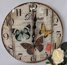 Resultado de imagen para reloj de pared vintage cuadrado Decoupage Art, Decoupage Vintage, Deco Podge, Wall Clock Design, Diy Clock, Wooden Clock, Pallet Art, Craft Box, Diy Dollhouse
