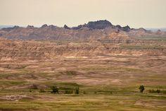 Badlands National Park - Badlands National Park in South Dakota. Badlands National Park, National Parks, South Dakota, Monument Valley, Grand Canyon, Mountains, Landscape, Nature, Travel
