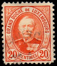 Luxembourg 1891-93 20C Perf 11 X11 Fine Used