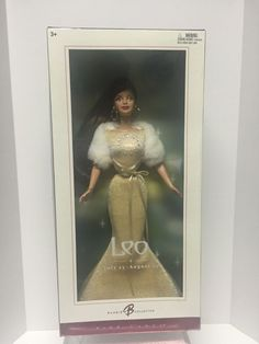 Leo BARBIE, BARBIE PINK LABEL 2004 Zodiac Collection #Mattel #DollswithClothingAccessories