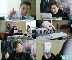 now joon jae trapped the director in his plan and also recorded his confession as in future he change his mind he ask the director to go easy on the patient shim cheong   - The Legend of the Blue Sea - Episode 6 (Eng Sub)