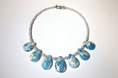 polymer clay necklace/beads