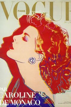 "Andy Warhol, Dec./Jan 1984 | 11 Famous Artists Who Created Gorgeous ""Vogue"" Covers"