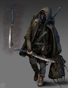 Resultado de imagen de badass character design