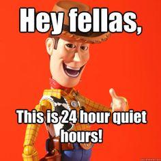 Woody says: