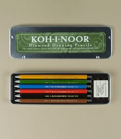 Koh I Noor Drawing Pencils