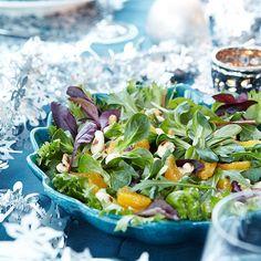 Joulun sitrussalaatti | Maku Fresh Rolls, Food And Drink, Salad, Ethnic Recipes, Koti, Salads, Lettuce